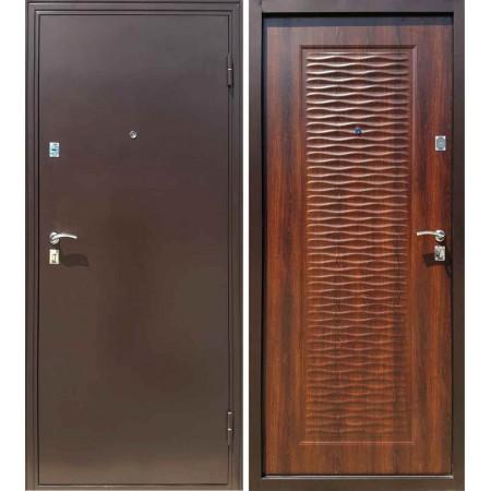 Дверь Форпост Волна (Морёный дуб)