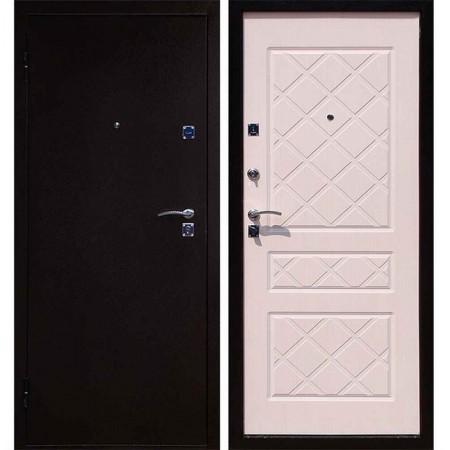 Входная дверь в квартиру Форпост Эко (беленый дуб)