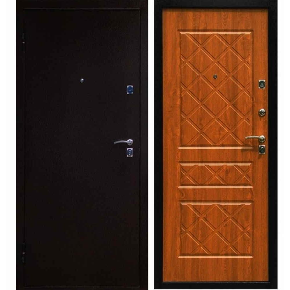 Входная дверь Форпост Эко (Дуб золотой)