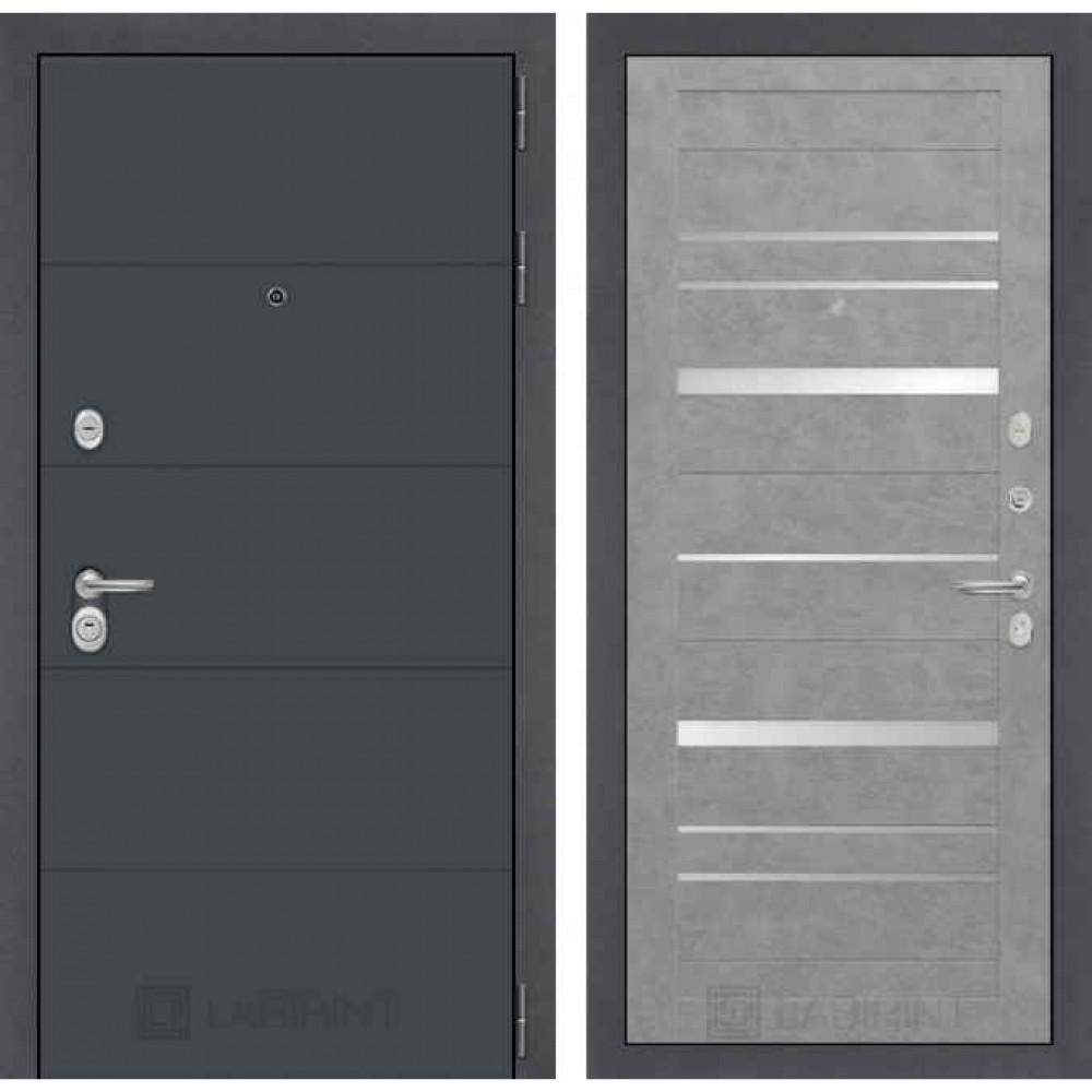 Входная дверь Лабиринт ART 20 Бетон светлый (с шумоизоляцией)