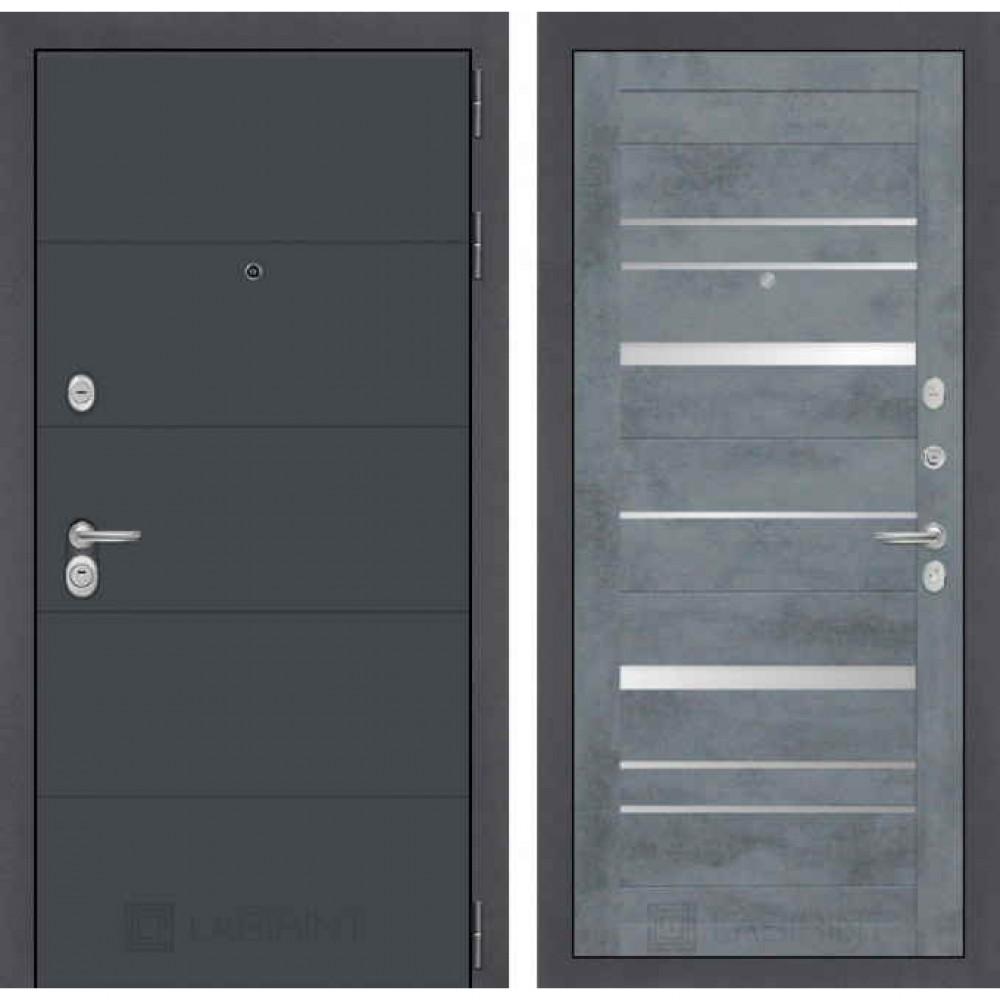 Входная дверь Лабиринт ART 20 Бетон темный (с шумоизоляцией)