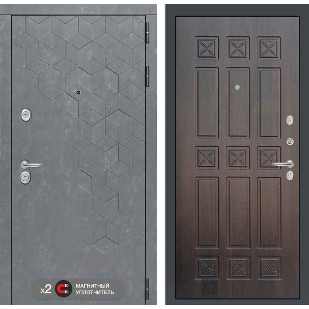 Входная дверь Лабиринт Бетон 16 - Алмон 28 ( сейфовые )