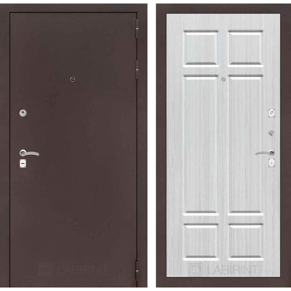 Входная дверь Лабиринт CLASSIC антик медный 08 - Кристалл вуд (с шумоизоляцией)
