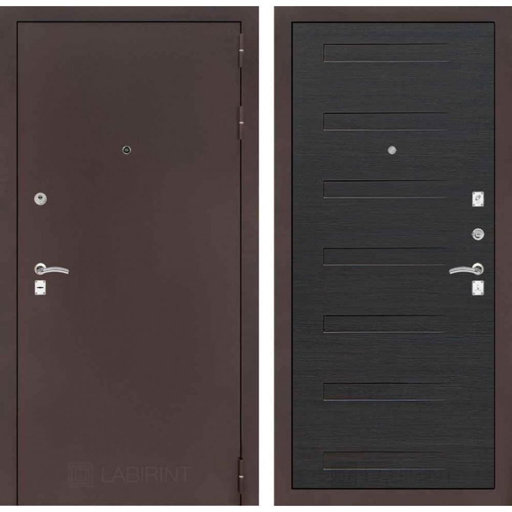 Входная дверь Лабиринт CLASSIC антик медный 14 - Эковенге (трехконтурные)