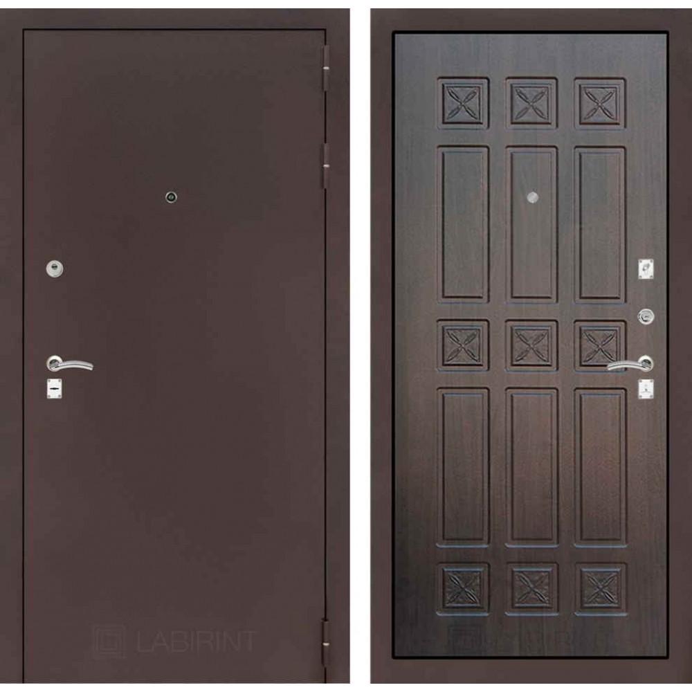 Входная дверь Лабиринт CLASSIC антик медный 16 - Алмон 28 (трехконтурные)