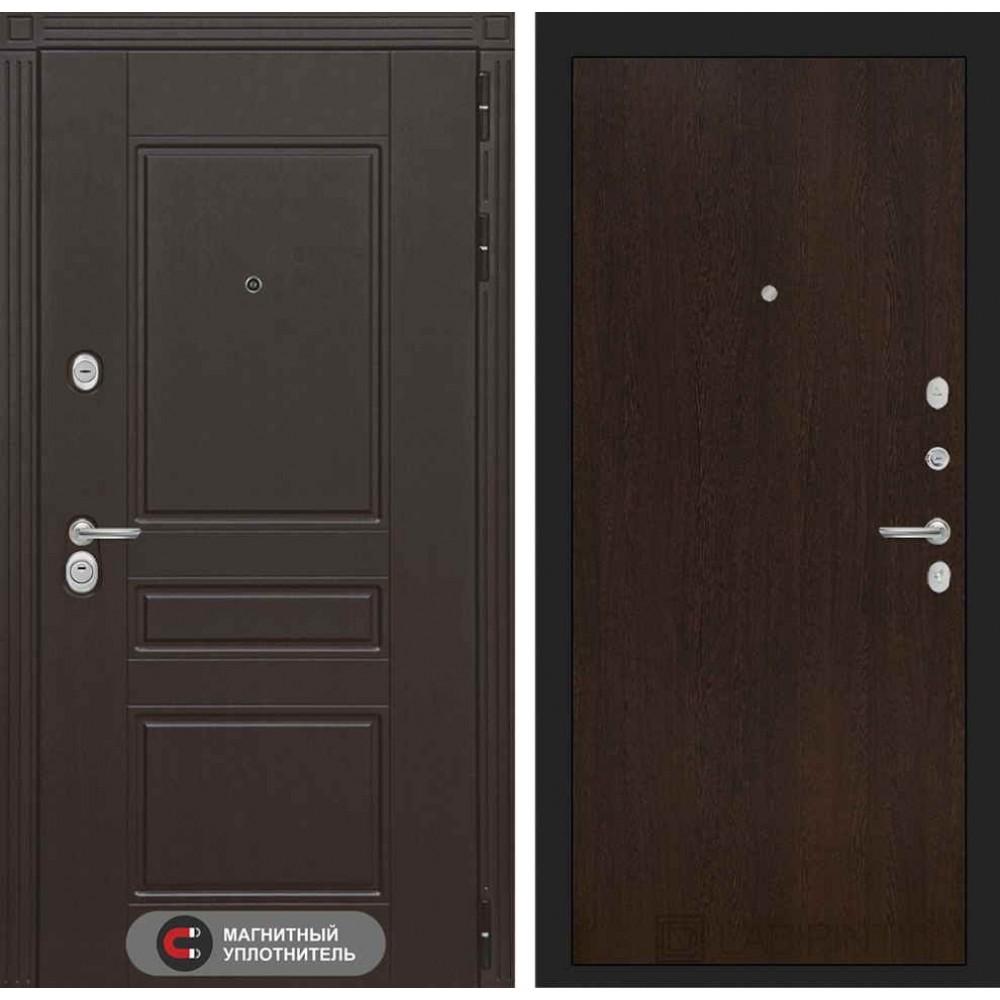 Входная дверь Лабиринт МЕГАПОЛИС 05 - Венге (с шумоизоляцией)