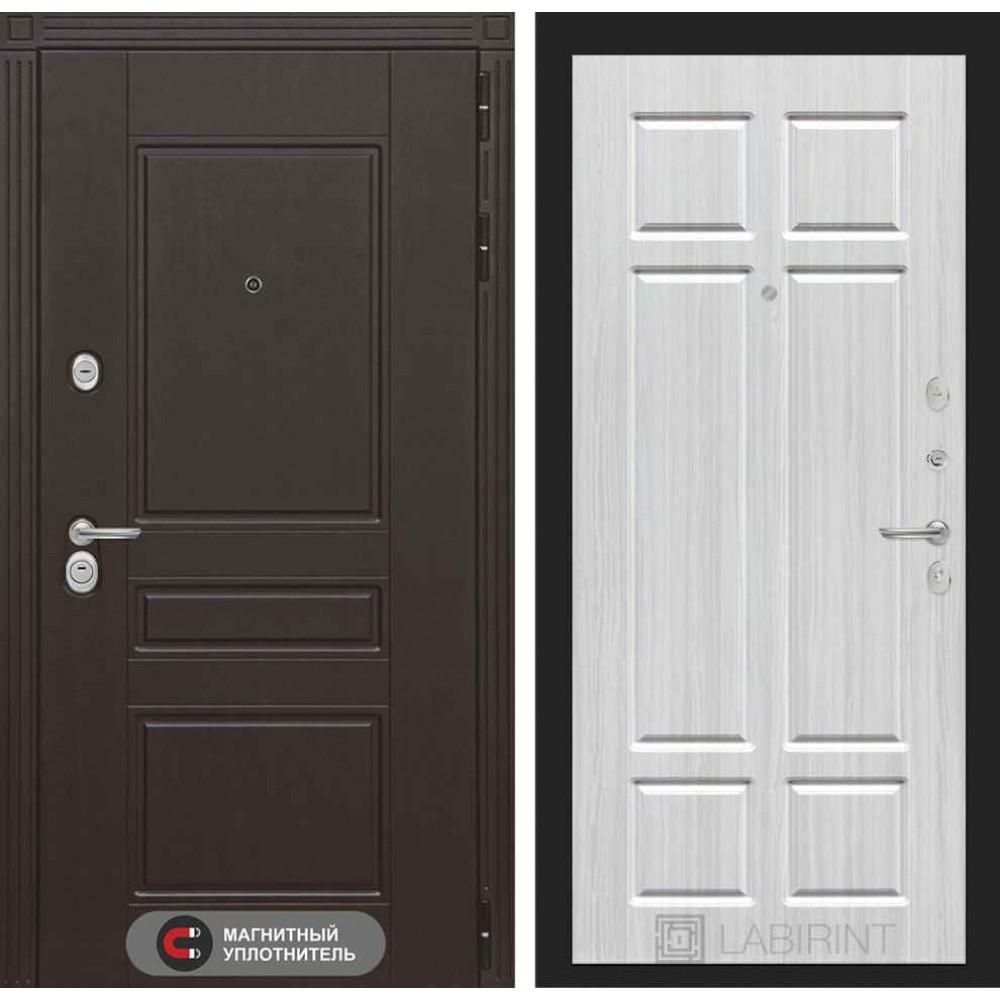 Входная дверь Лабиринт МЕГАПОЛИС 08 - Кристалл вуд (утепленные)