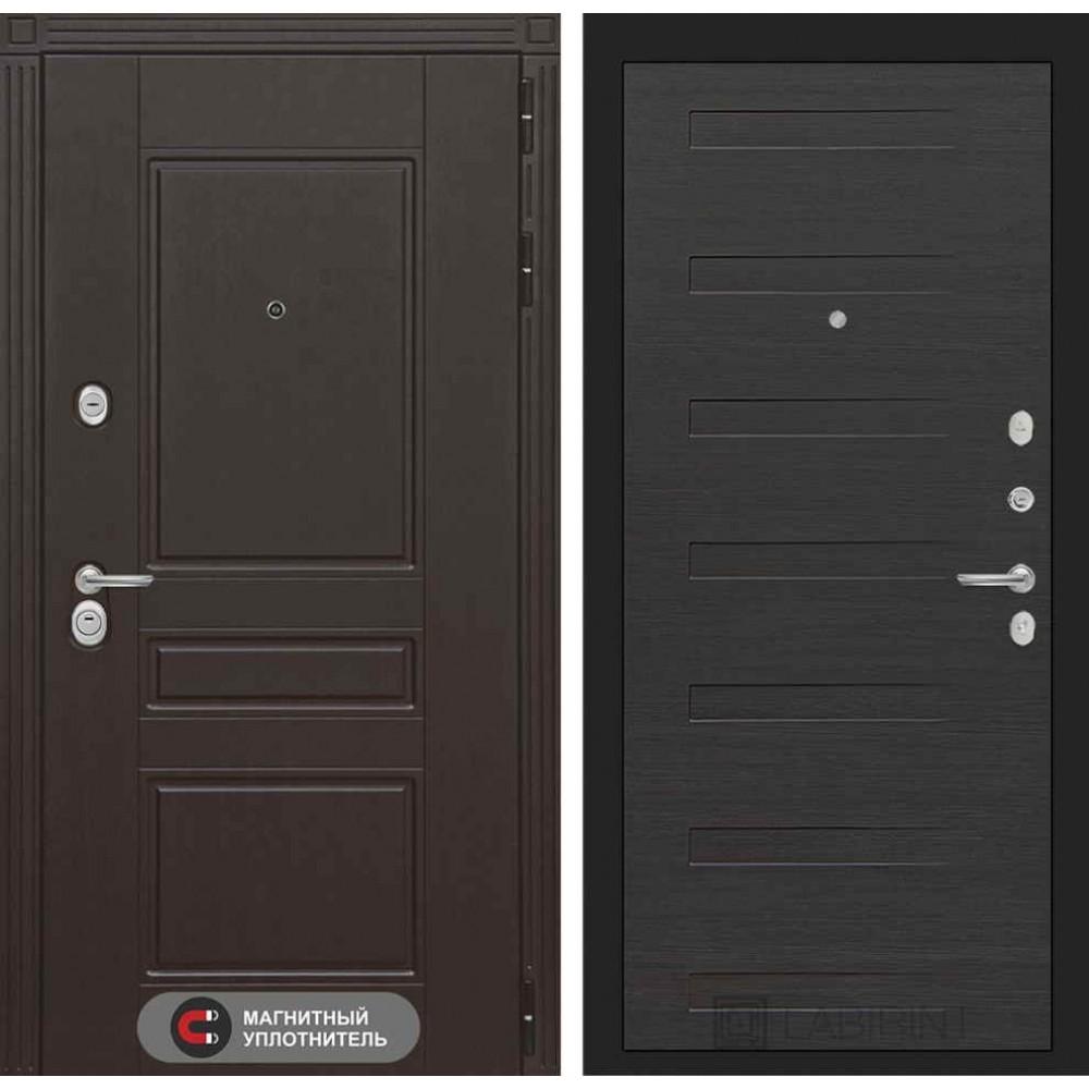Входная дверь Лабиринт МЕГАПОЛИС 14 - Эковенге (с шумоизоляцией)