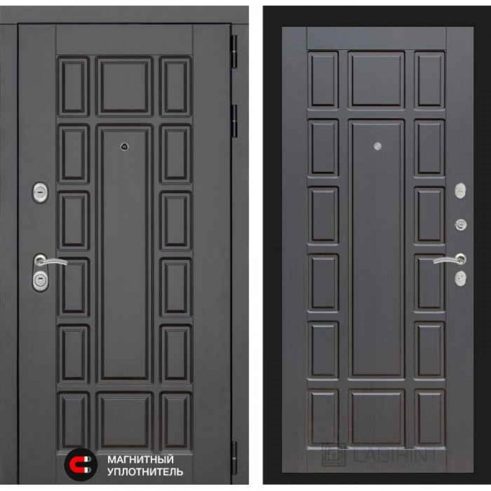 Входная дверь Лабиринт NEW YORK 12- Венге (трехконтурные)