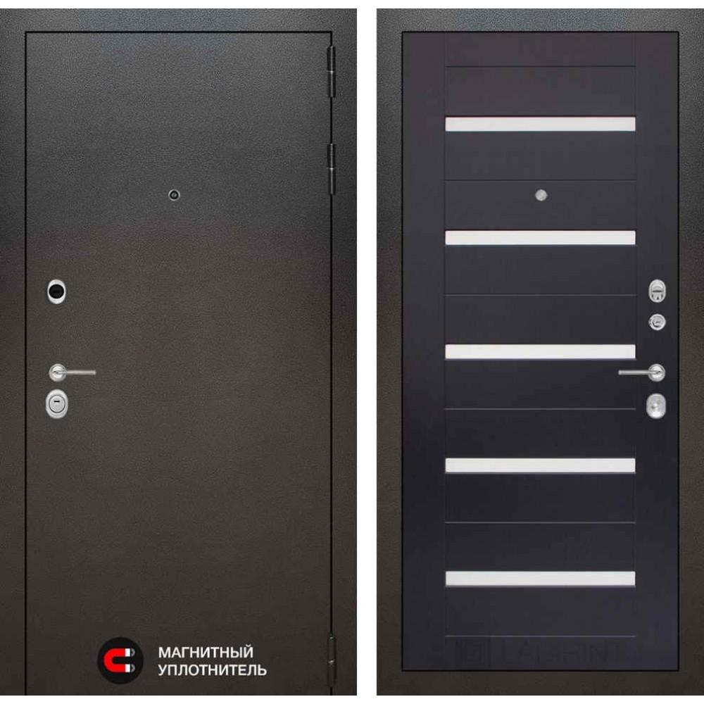 Входная дверь Лабиринт SILVER 01 - Венге (антивандальные)