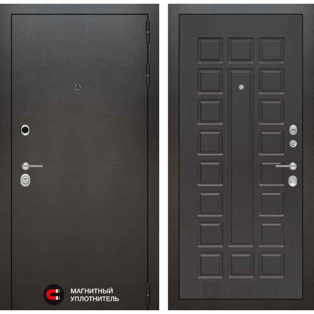 Входная дверь Лабиринт SILVER 04 - Венге (с шумоизоляцией)