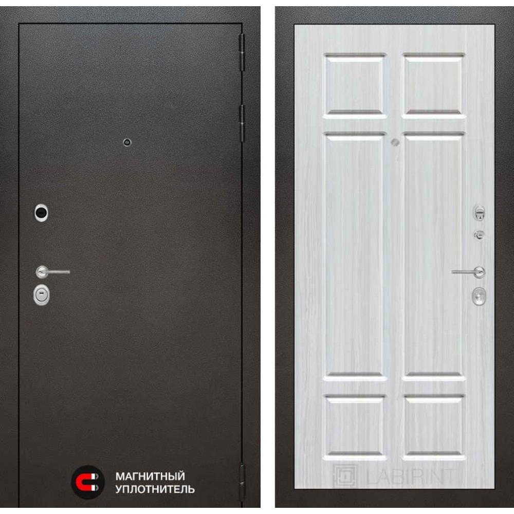 Входная дверь Лабиринт SILVER 08 - Кристалл Вуд (утепленные)