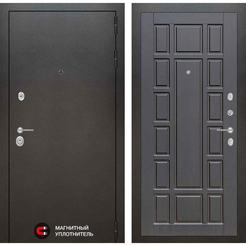Входная дверь Лабиринт SILVER 12 - Венге  (антивандальные)