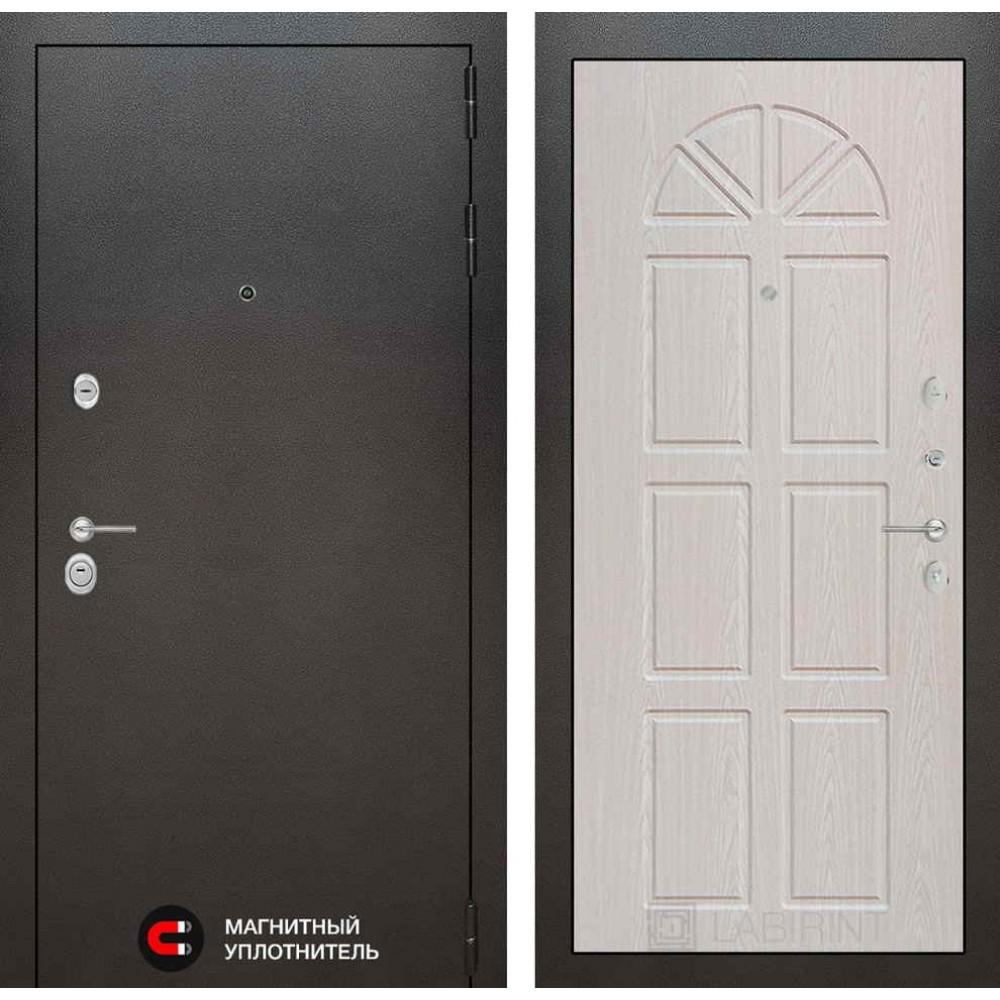 Входная дверь Лабиринт SILVER 15 - Алмон 25 (с шумоизоляцией)