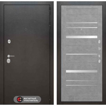 Входная дверь Лабиринт SILVER 20 Бетон светлый (утепленные)