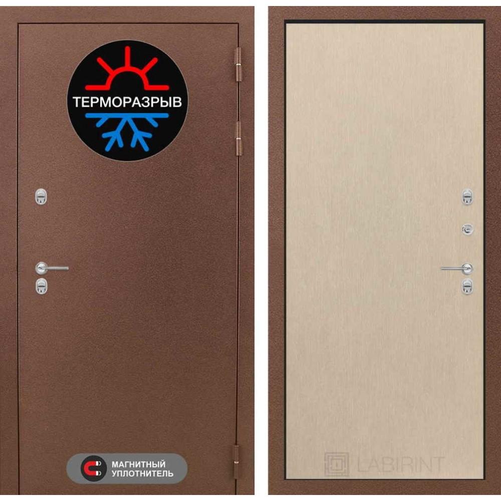 Входная дверь Лабиринт Термо Магнит 05 - Венге светлый (морозостойкие)