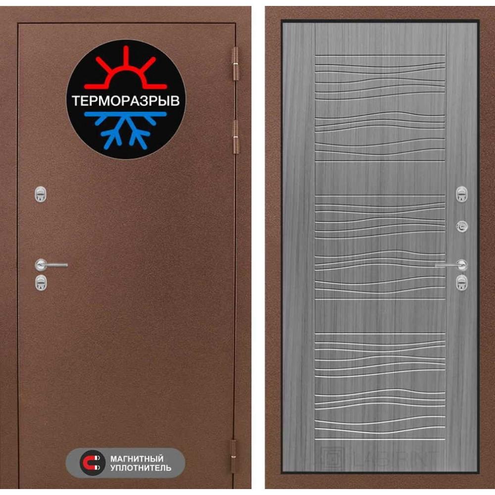 Входная дверь Лабиринт Термо Магнит 06 - Сандал серый (морозостойкие)