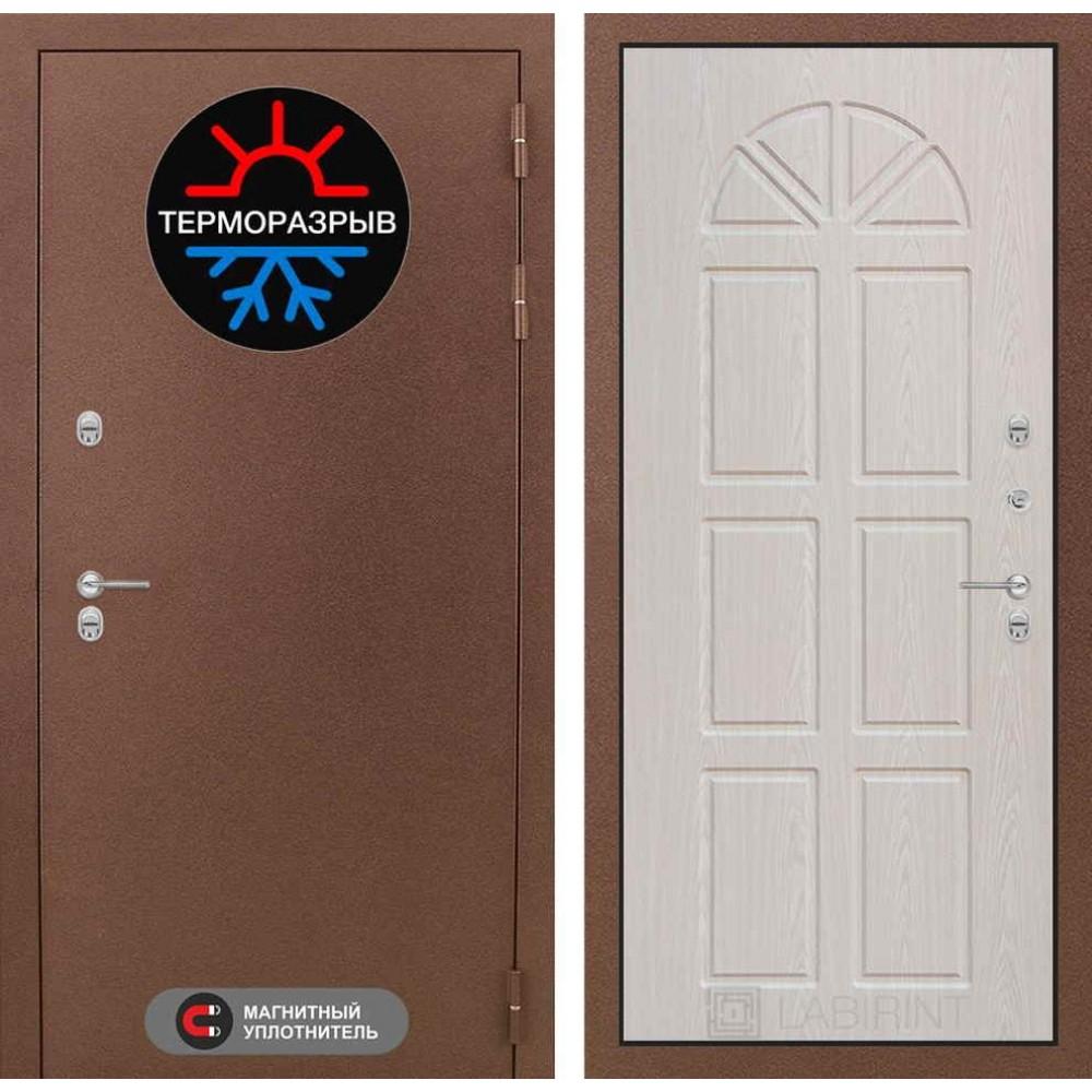 Входная дверь Лабиринт Термо Магнит 15 - Алмон 25 (утепленные)
