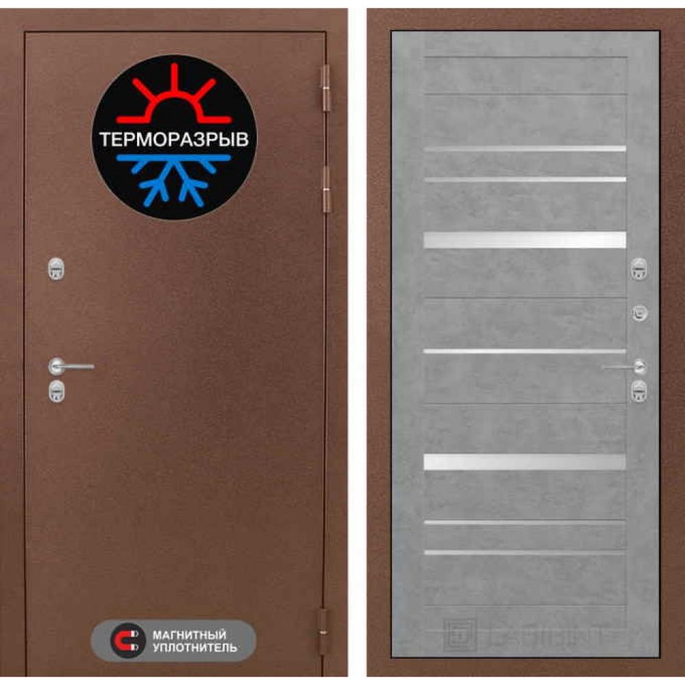 Входная дверь Лабиринт Термо Магнит 20 Бетон светлый (с терморазрывом)