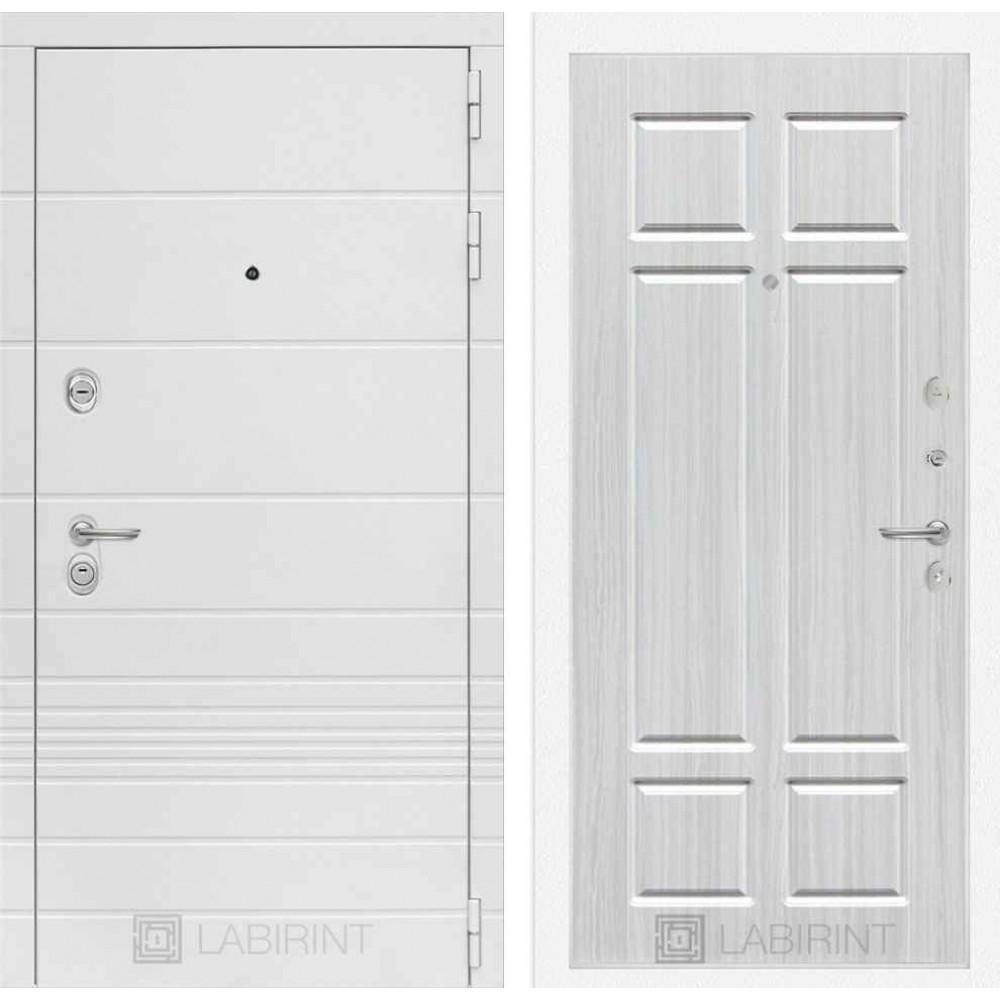 Входная дверь Лабиринт TRENDO  08 - Кристалл вуд (с шумоизоляцией)