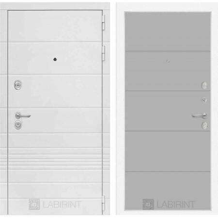 Входная дверь Лабиринт TRENDO 13 - Грей софт (с шумоизоляцией)