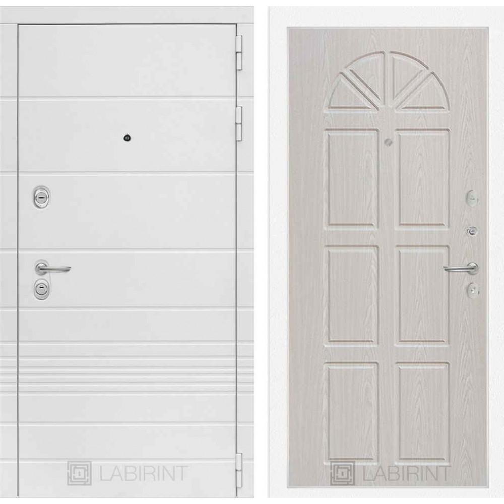 Входная дверь Лабиринт TRENDO 15 - Алмон 25 ( утепленные)