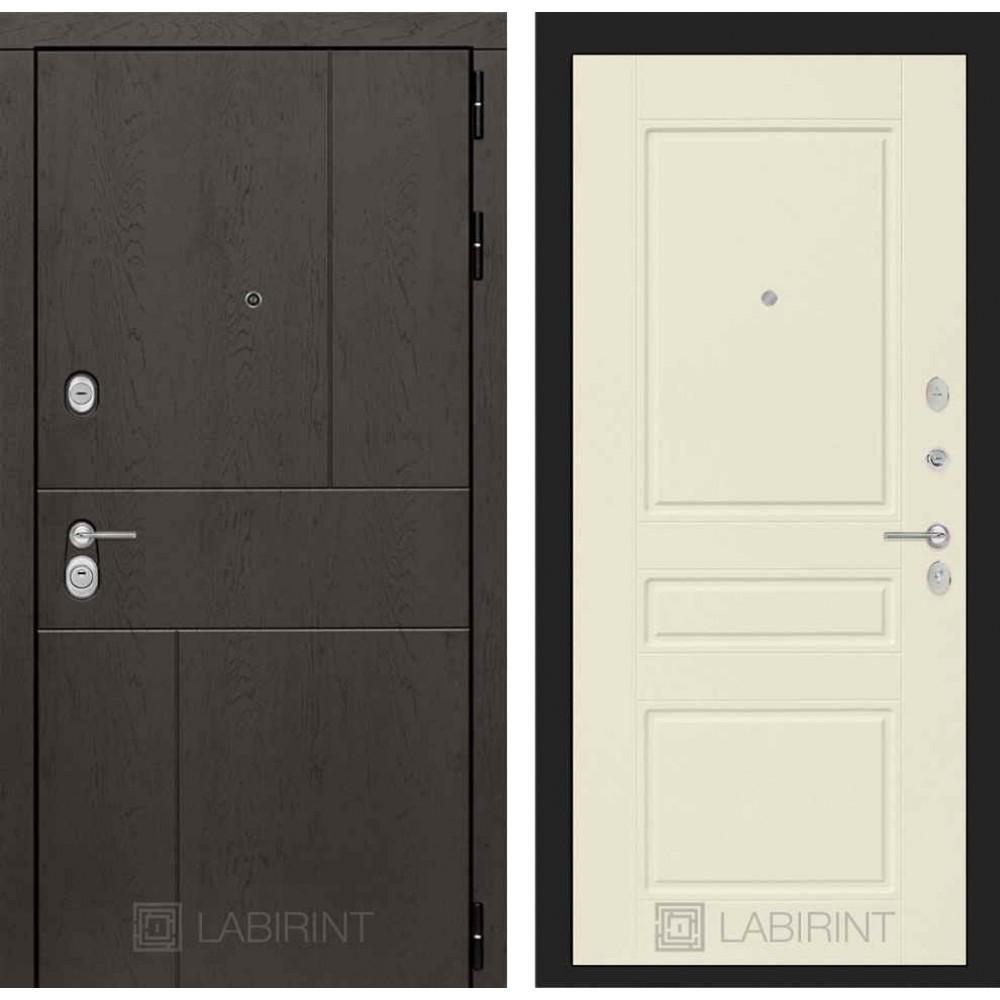 Входная дверь Лабиринт URBAN 03 - Крем софт (с шумоизоляцией)