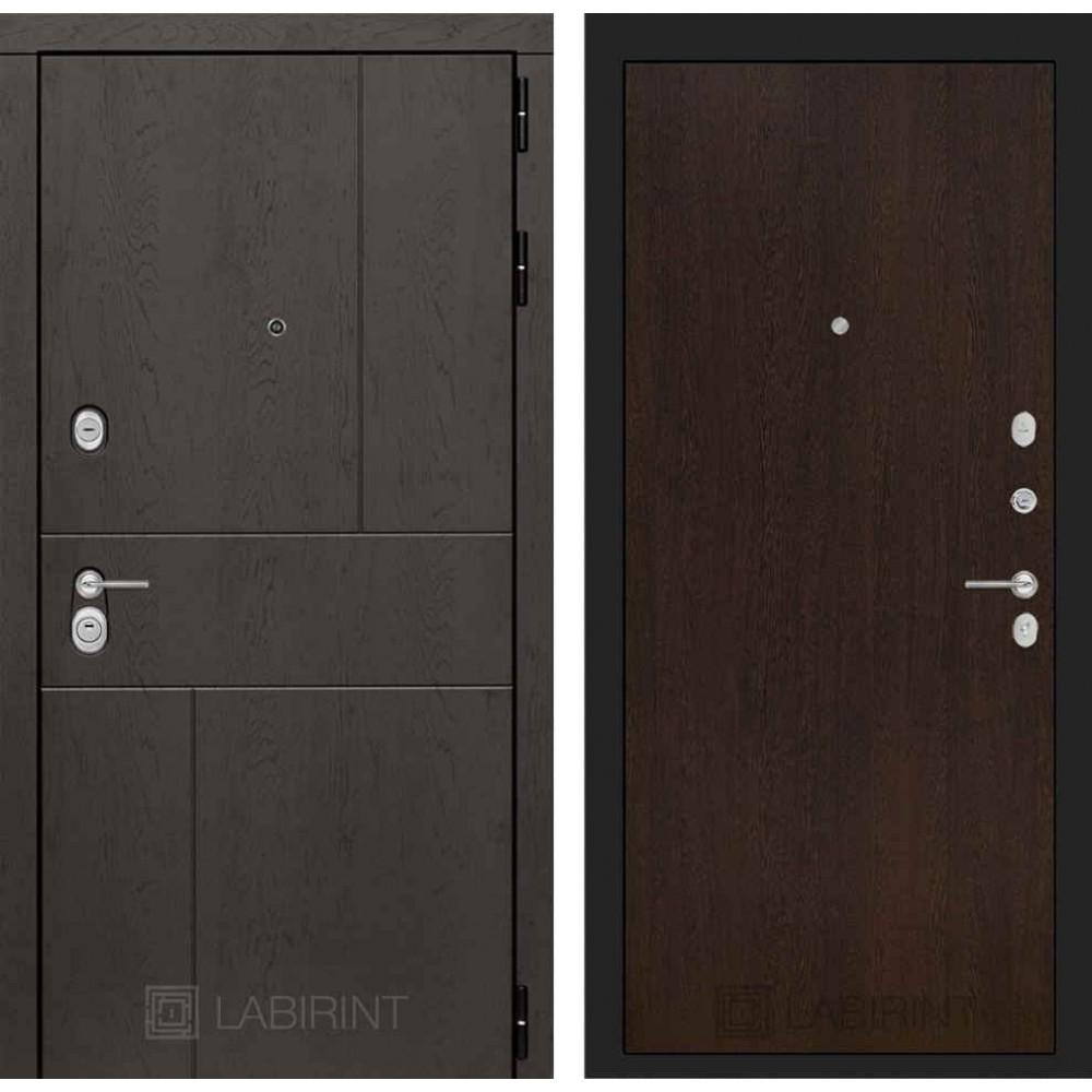 Входная дверь Лабиринт URBAN 05 - Венге (с шумоизоляцией)