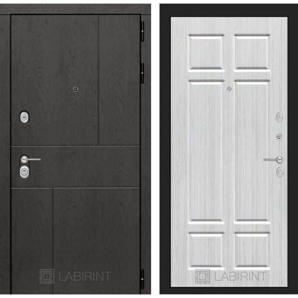 Входная дверь Лабиринт URBAN 08 - Кристалл вуд (с шумоизоляцией)
