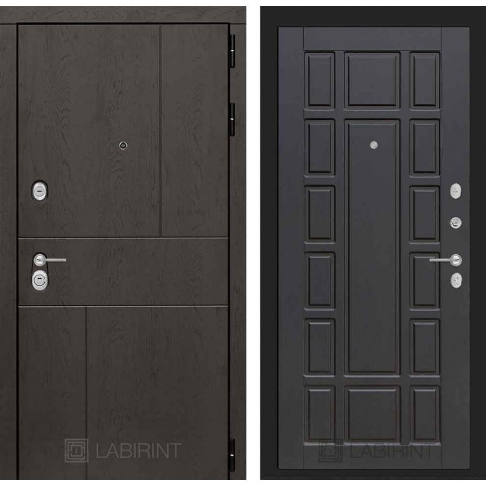 Входная дверь Лабиринт URBAN 12 - Венге (трехконтурные)