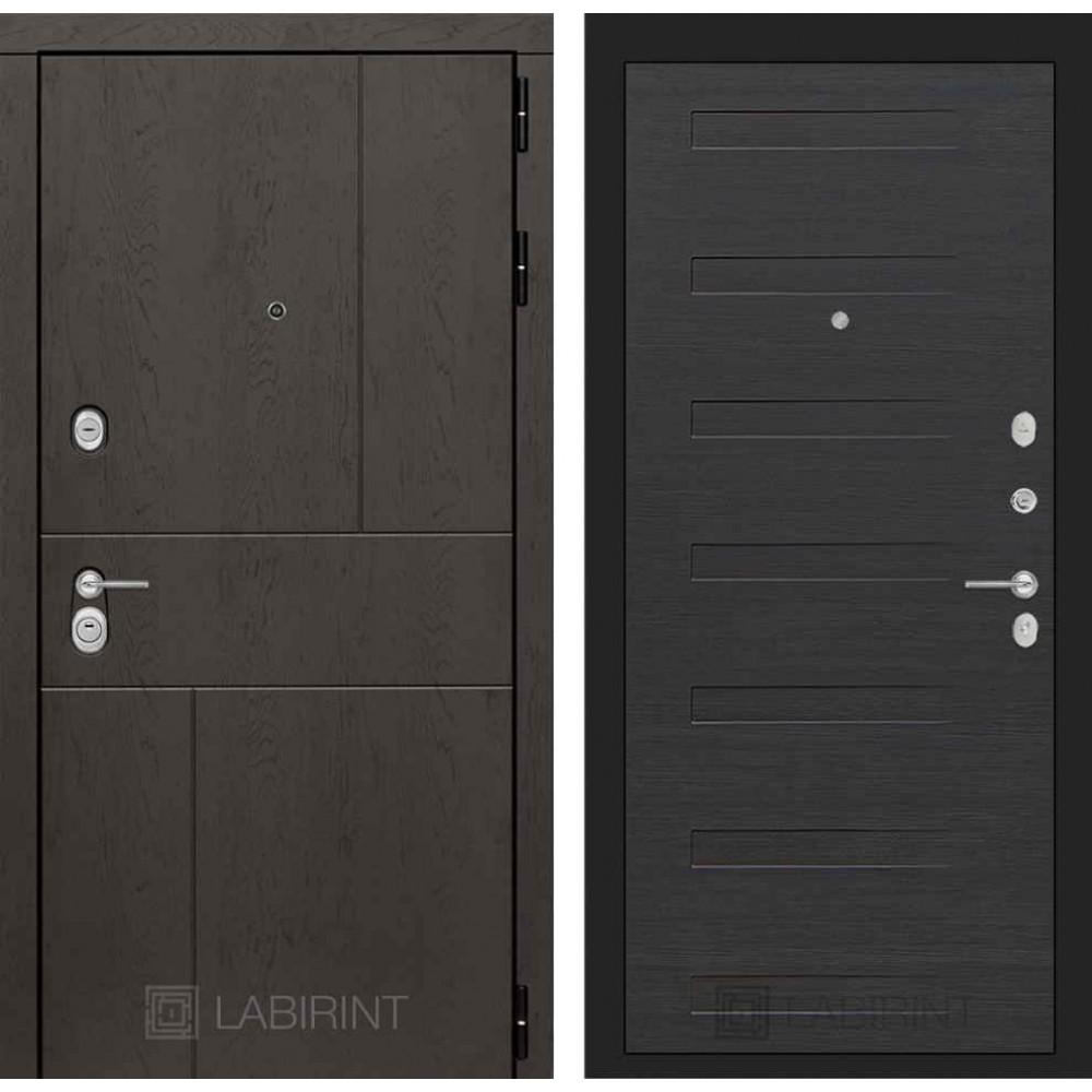 Входная дверь Лабиринт URBAN 14 - Эковенге (трехконтурные)
