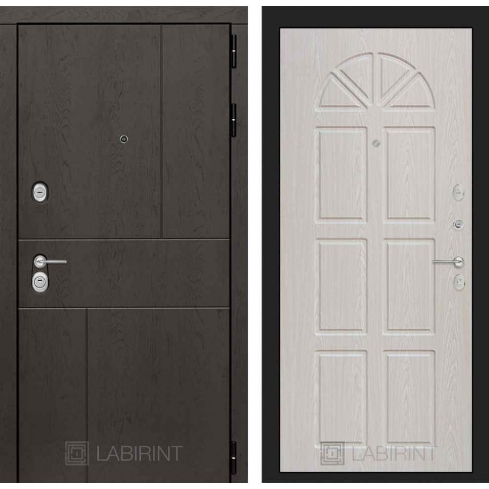 Входная дверь Лабиринт URBAN 15 - Алмон 25 (утепленные )