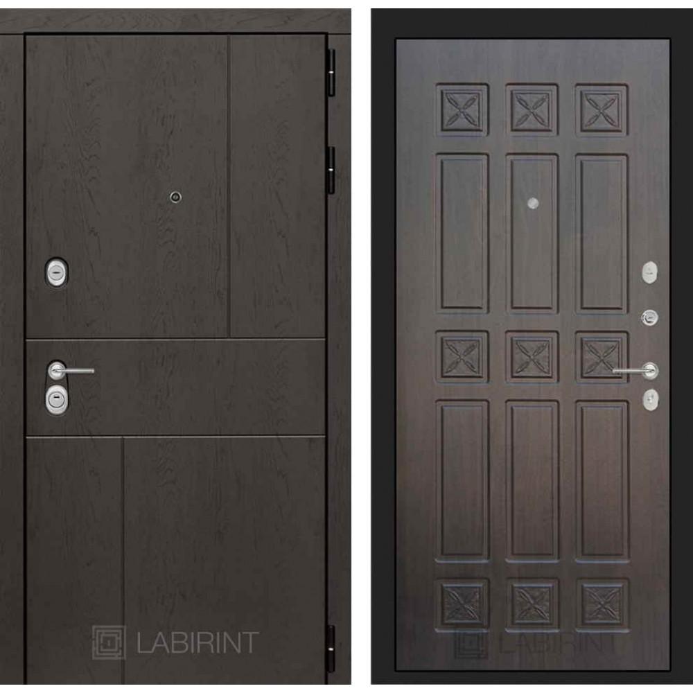 Входная дверь Лабиринт URBAN 16 - Алмон 28 (трехконтурные)