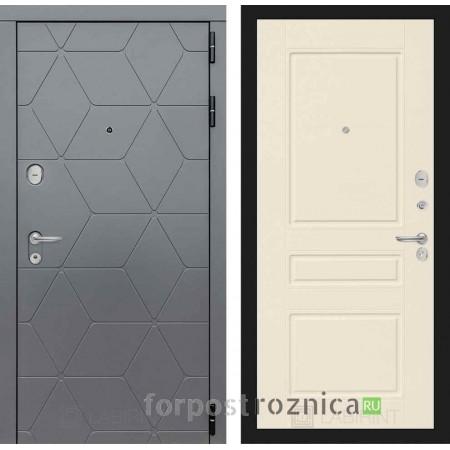 Входная дверь Лабиринт COSMO 03 Крем софт