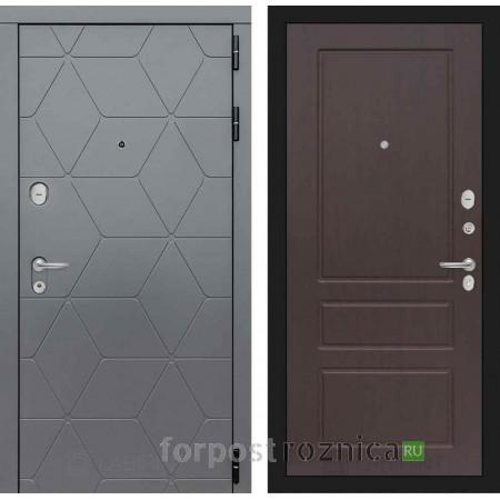 Входная дверь Лабиринт COSMO 03 Орех премиум