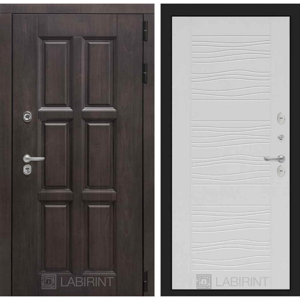 Входная дверь Лондон ТЕРМО 06 - Белое дерево