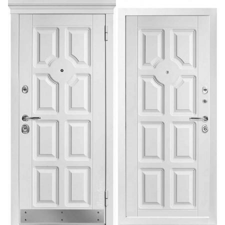 Входная дверь Металюкс Статус М707 с капителью