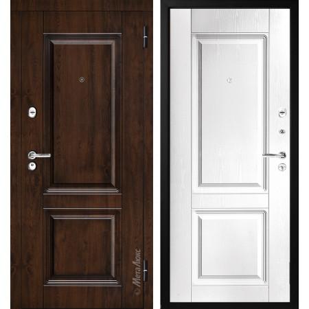 Входная металлическая  дверь Металюкс М380-1