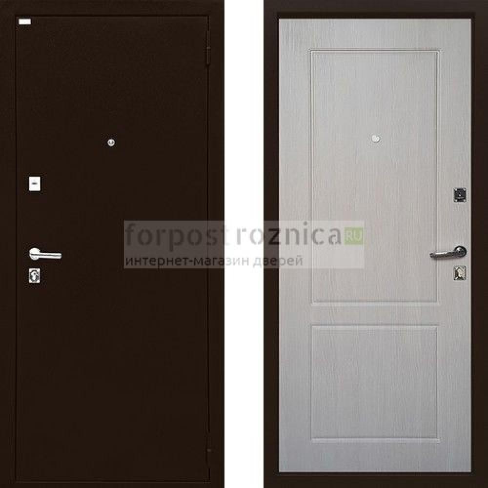 Входная дверь Ратибор Форт Люкс Капучино (антивандальные)