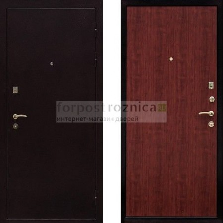 Входная дверь Ратибор Практик Итальянский Орех ( антивандальные)