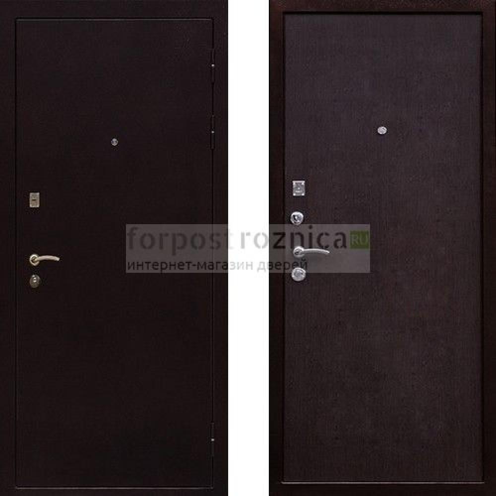 Входная дверь Ратибор Практик Венге (антивандальные)