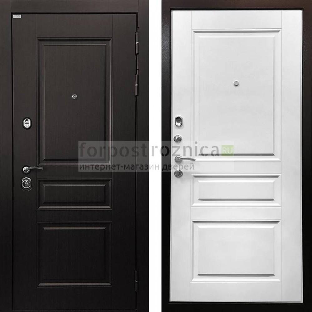 Входная дверь Ратибор Лондон 3К White (трехконтурные )