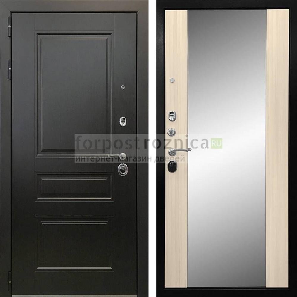 Входная дверь Ратибор Монолит 3К Сандал белый (трехконтурные )