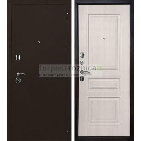 Входная дверь Ратибор Троя 3К Лиственница (трехконтурные)