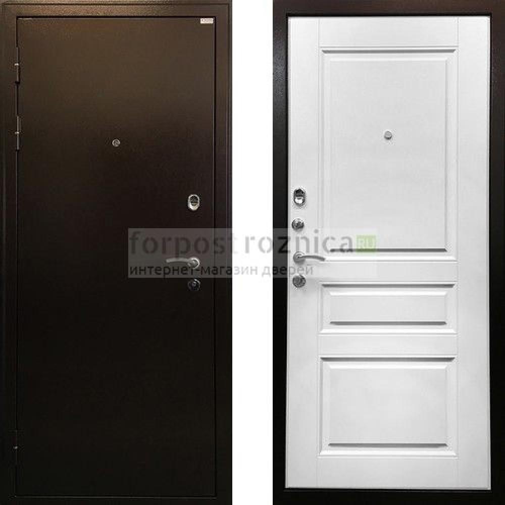 Входная дверь Ратибор Статус Белый Ясень (антивандальные)