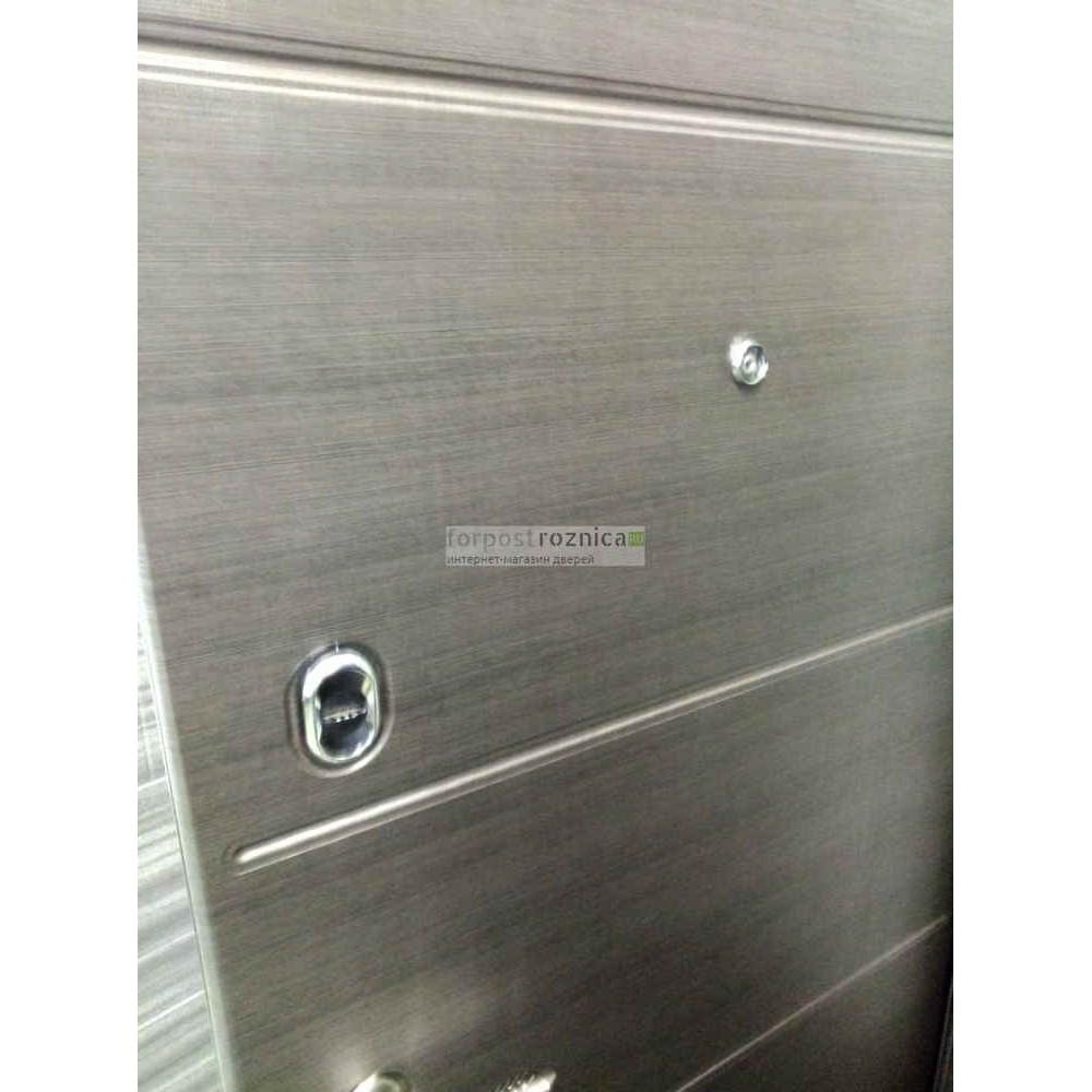 Входная дверь Ратибор Спектр 3К Акация поперечная (трехконтурные)