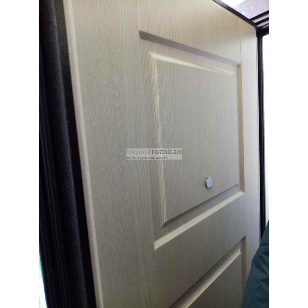Входная дверь Ратибор Трио Лиственница Беж (с шумоизоляцией)