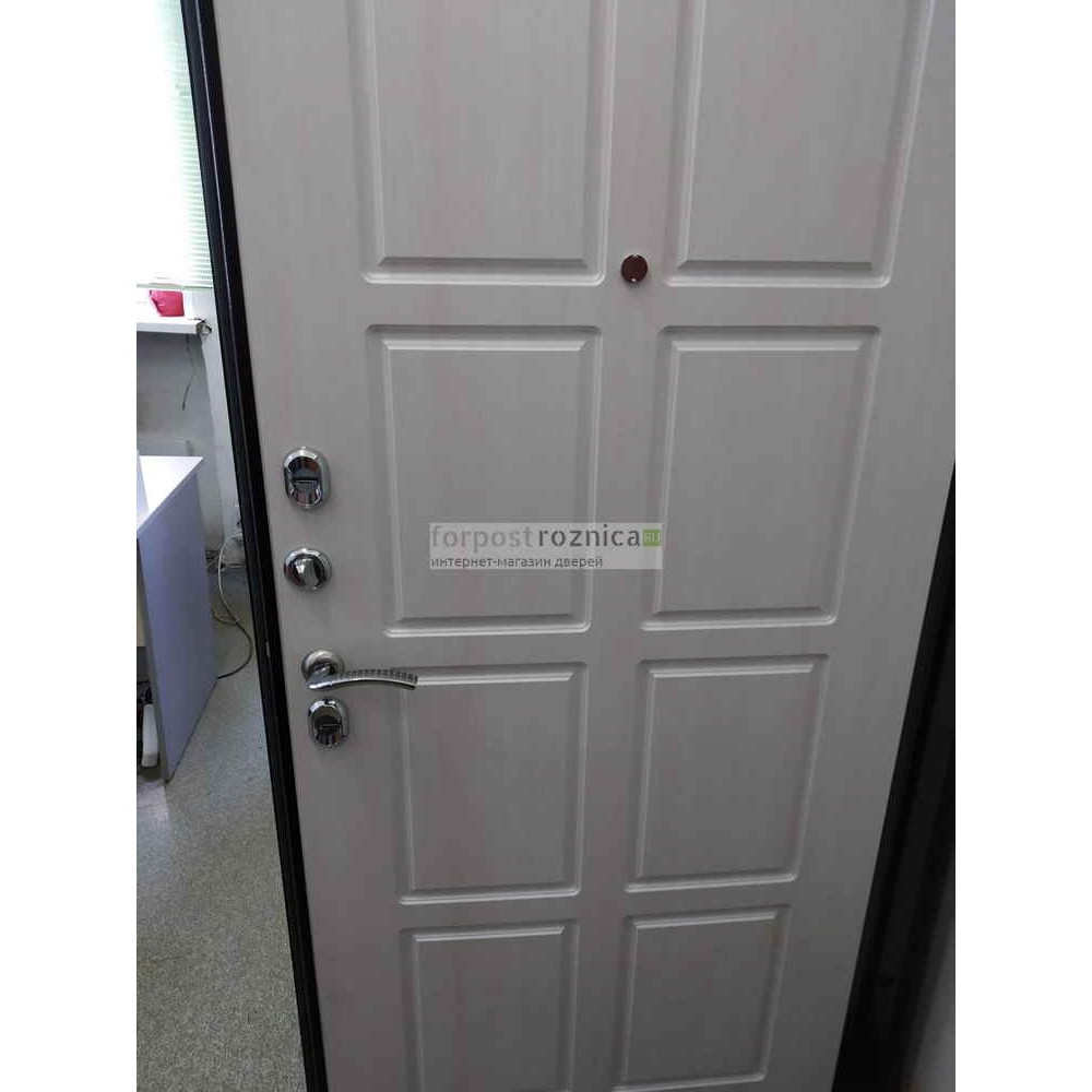 Входная дверь Ратибор Термоблок 3К Лиственница Беж (морозостойкие)