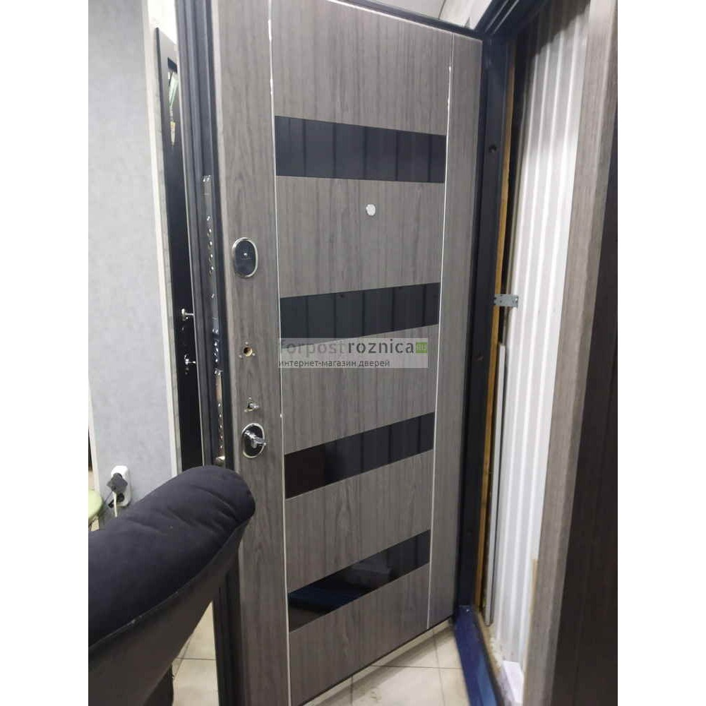 Входная дверь ReX Премьер Z-1 Волкан Оак (сейфовые)