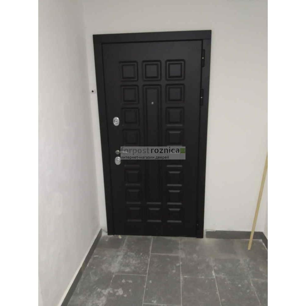 Входная дверь Рекс Сенатор Беленый Дуб (сейфовые)